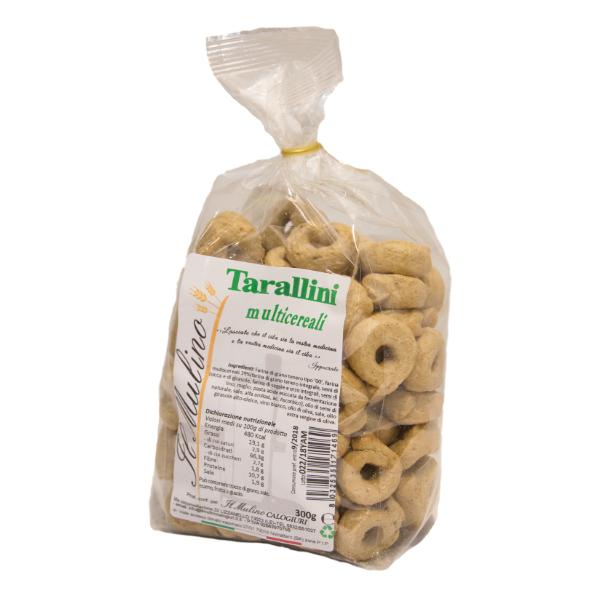 Tarallini multicereali e tritordeum - Il Mulino Calogiuri 2815e7e36a8f