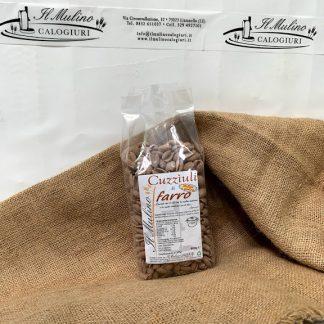 cuzziuli di farina di farro molita a pietra